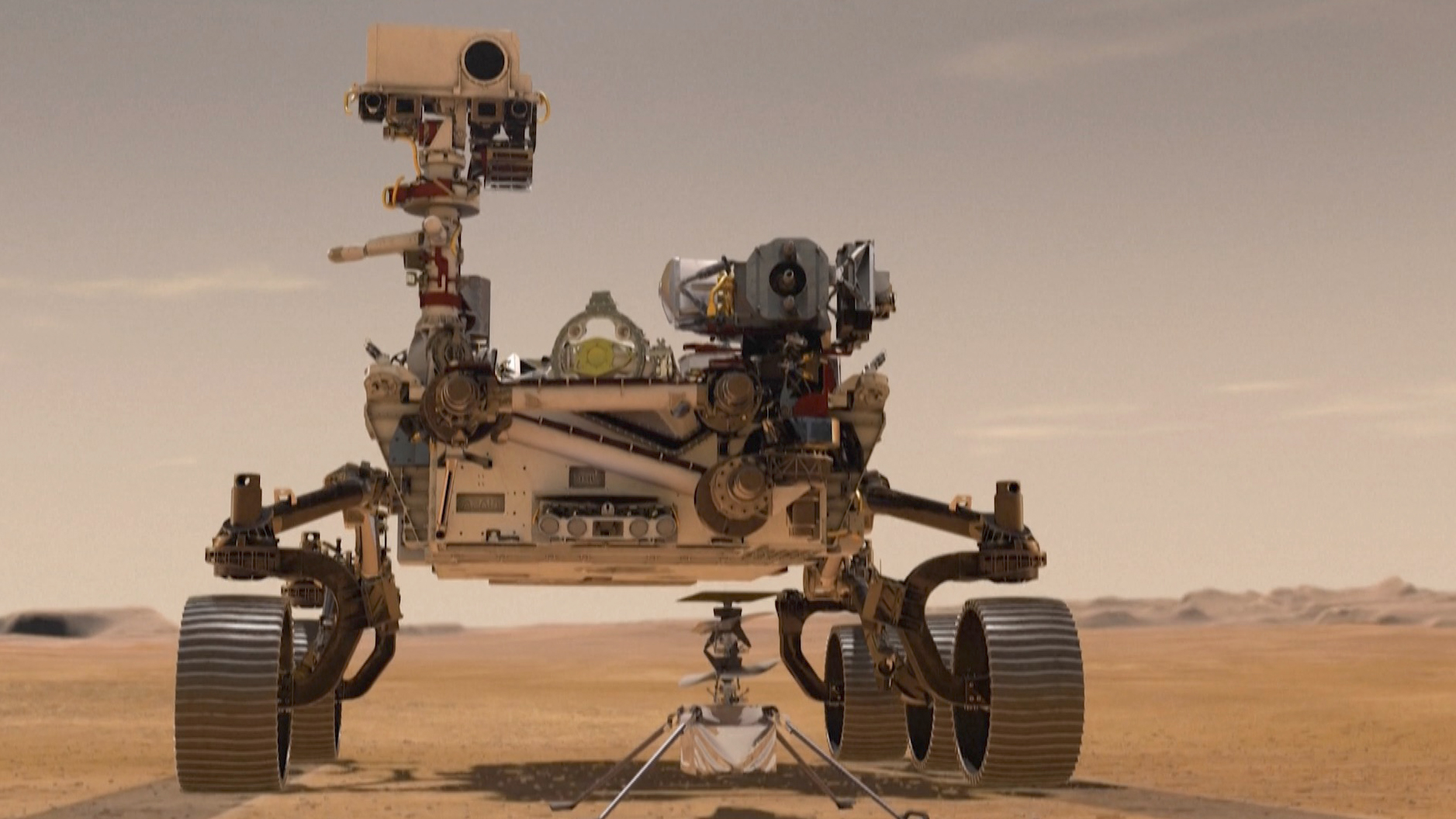 NASA's Perseverance rover will scour Mars for signs of ...