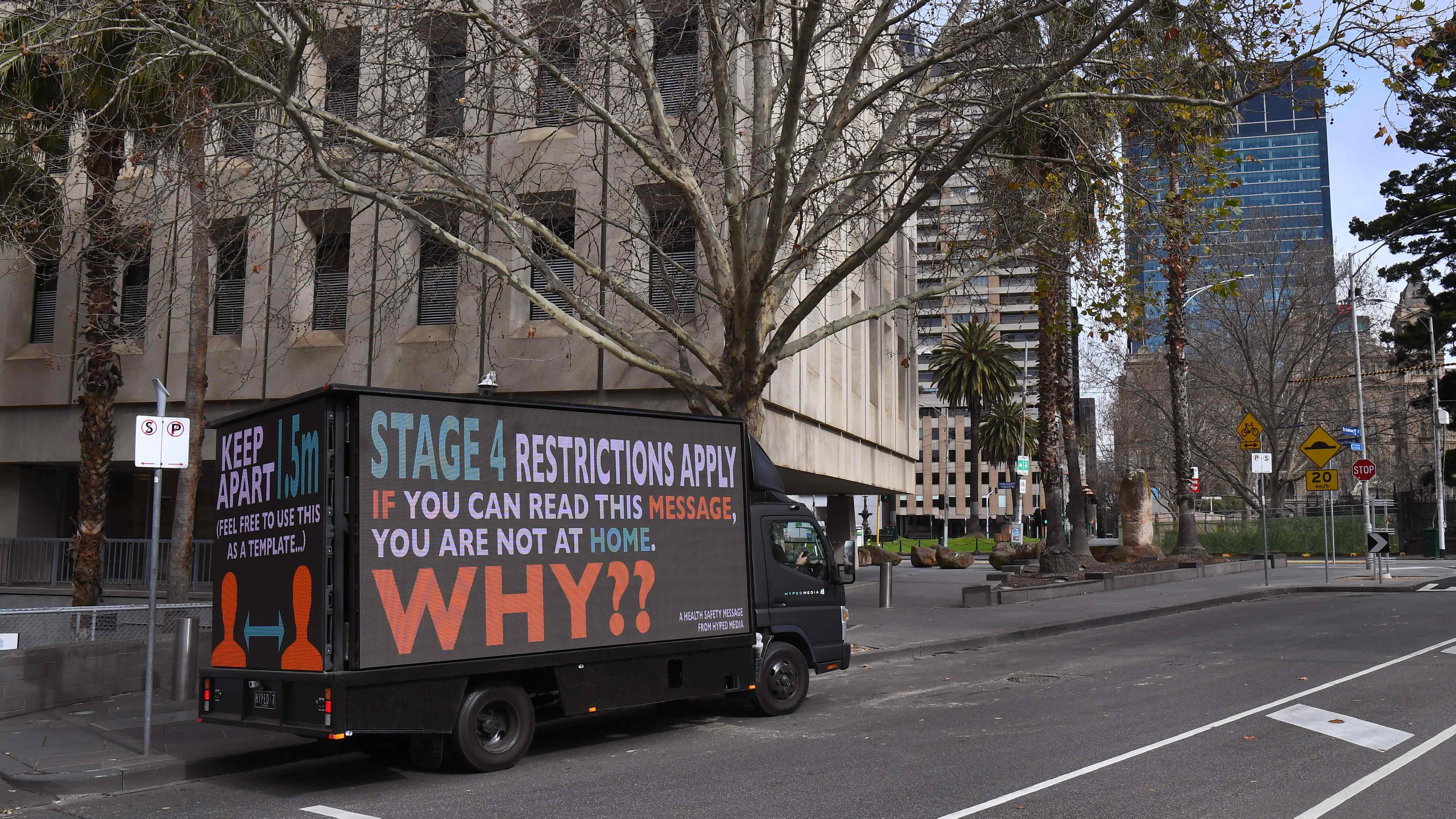 Australia S Melbourne Enters New Covid 19 Lockdown Economy Worsens Cgtn