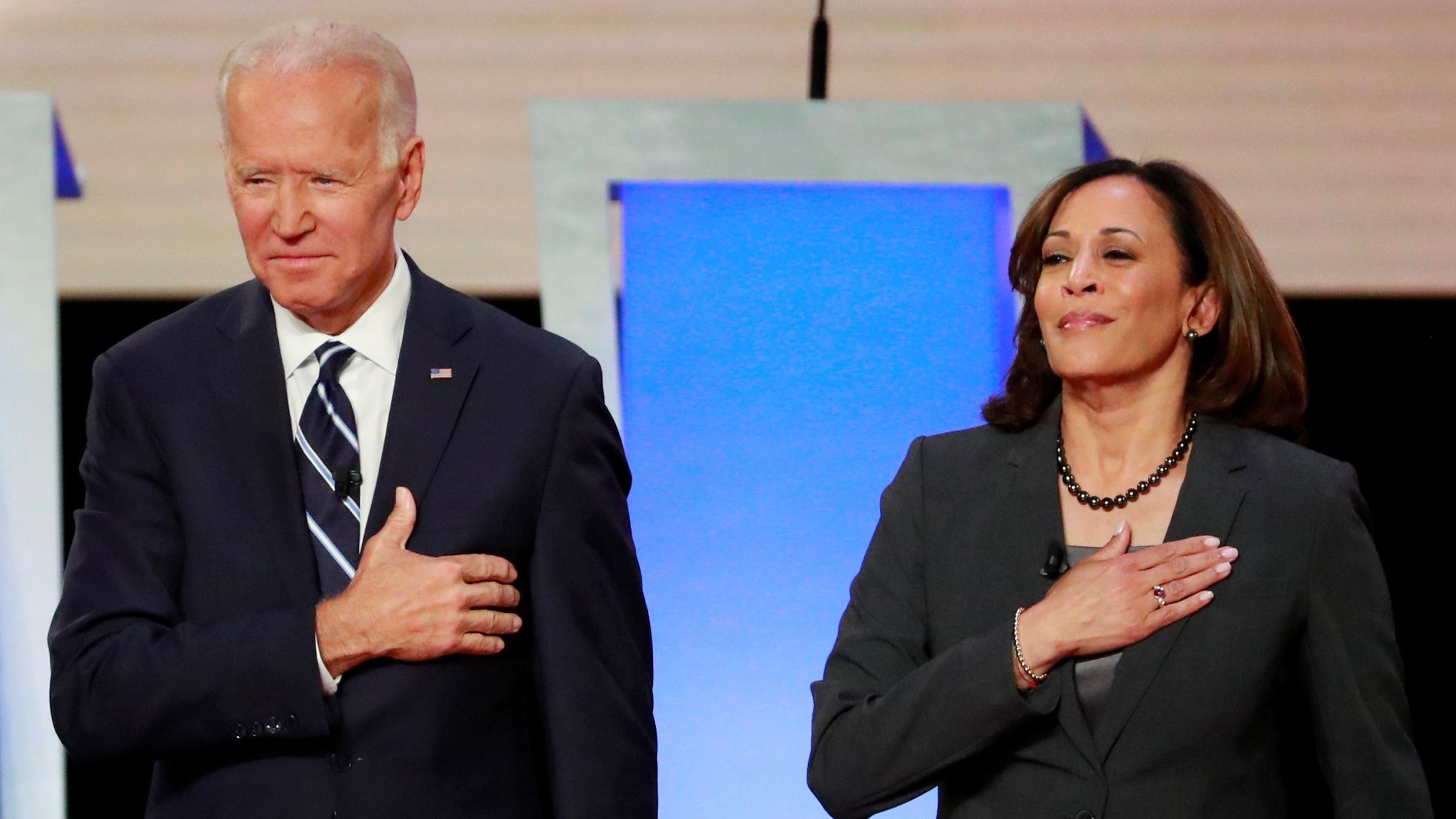 Joe Biden Picks Senator Kamala Harris As Running Mate Cgtn