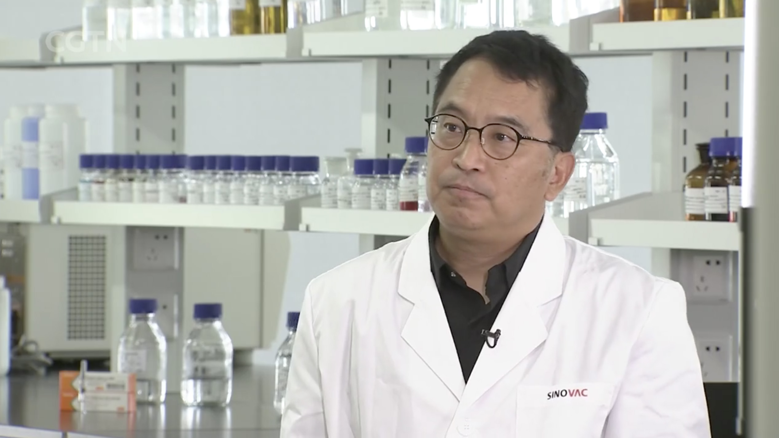 Sinovac CEO: Our vaccine is effective against many strains - CGTN