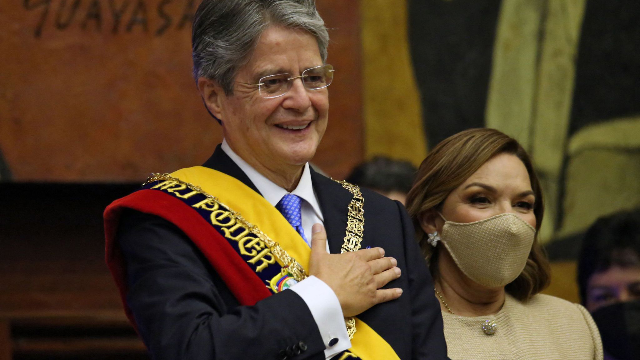 Ecuador'S Lasso Sworn In As First Right-Wing Leader In 14 Years - Cgtn
