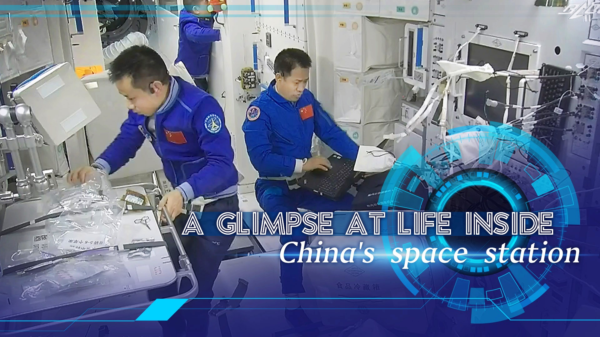 - 1e890a6bc9ec439c8f118eaec4b74279 - Tech Breakdown: A glimpse at life inside China's space station