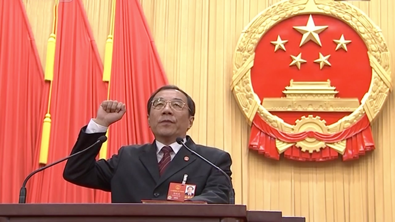 Yang Xiaodu elected director of China's National Supervisory Commission
