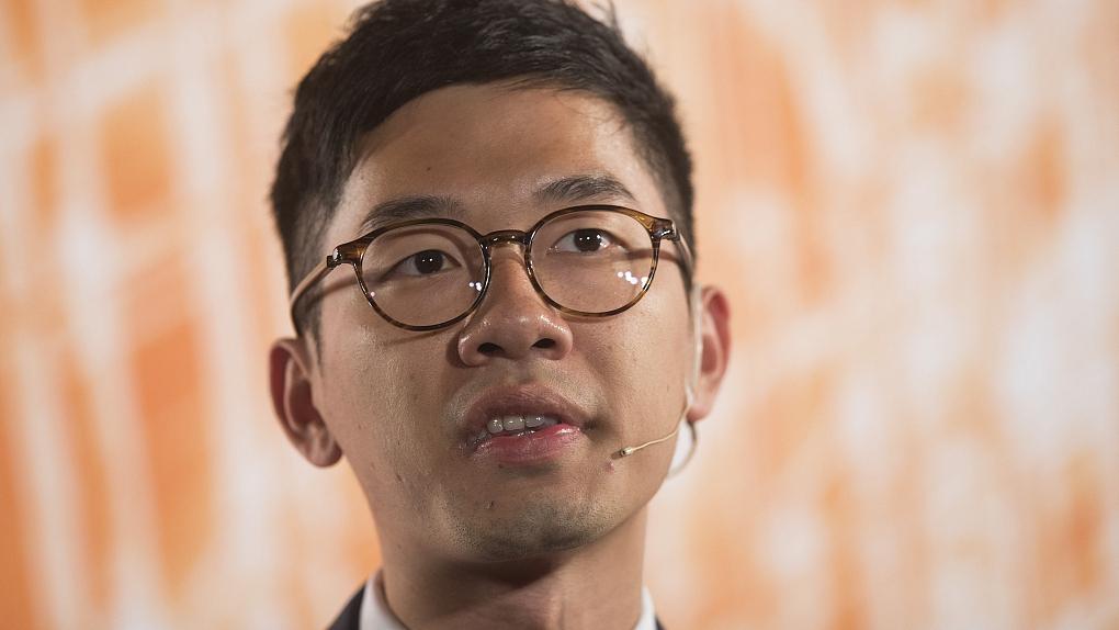 Leader of violent protests leaves HK to pursue master's in