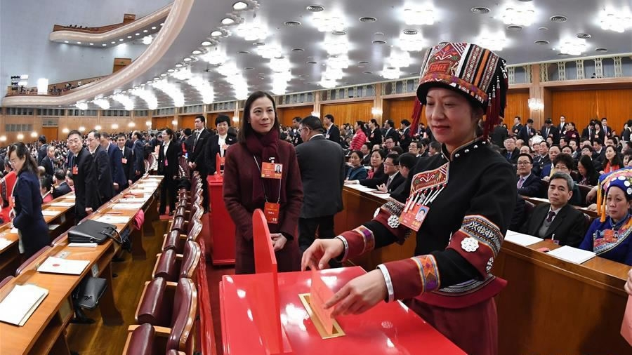China's top legislature passes constitutional amendment