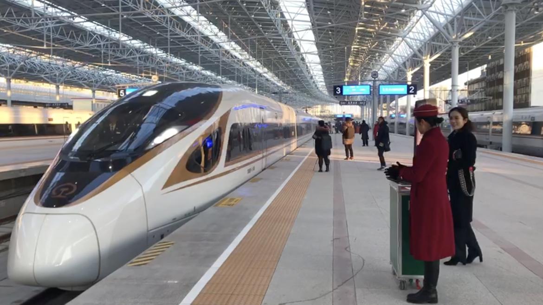 beijing winter olympics high speed railway line goes into. Black Bedroom Furniture Sets. Home Design Ideas