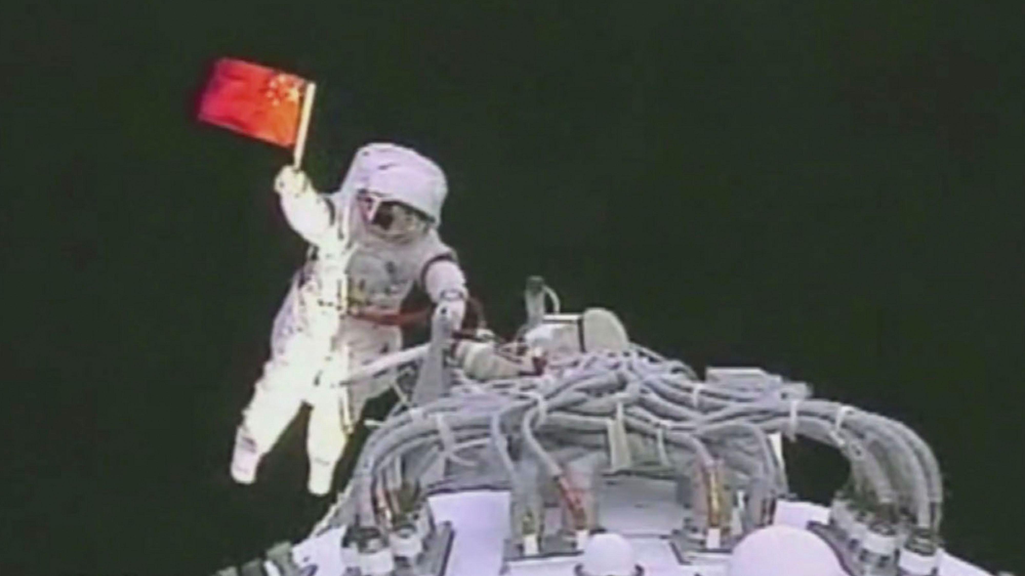 caminata espacial china