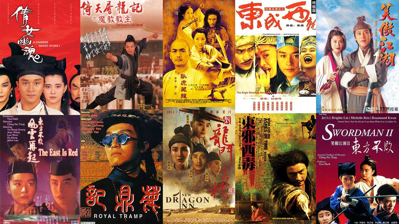 Chinese culture and the spirits behind Chinese wuxia films
