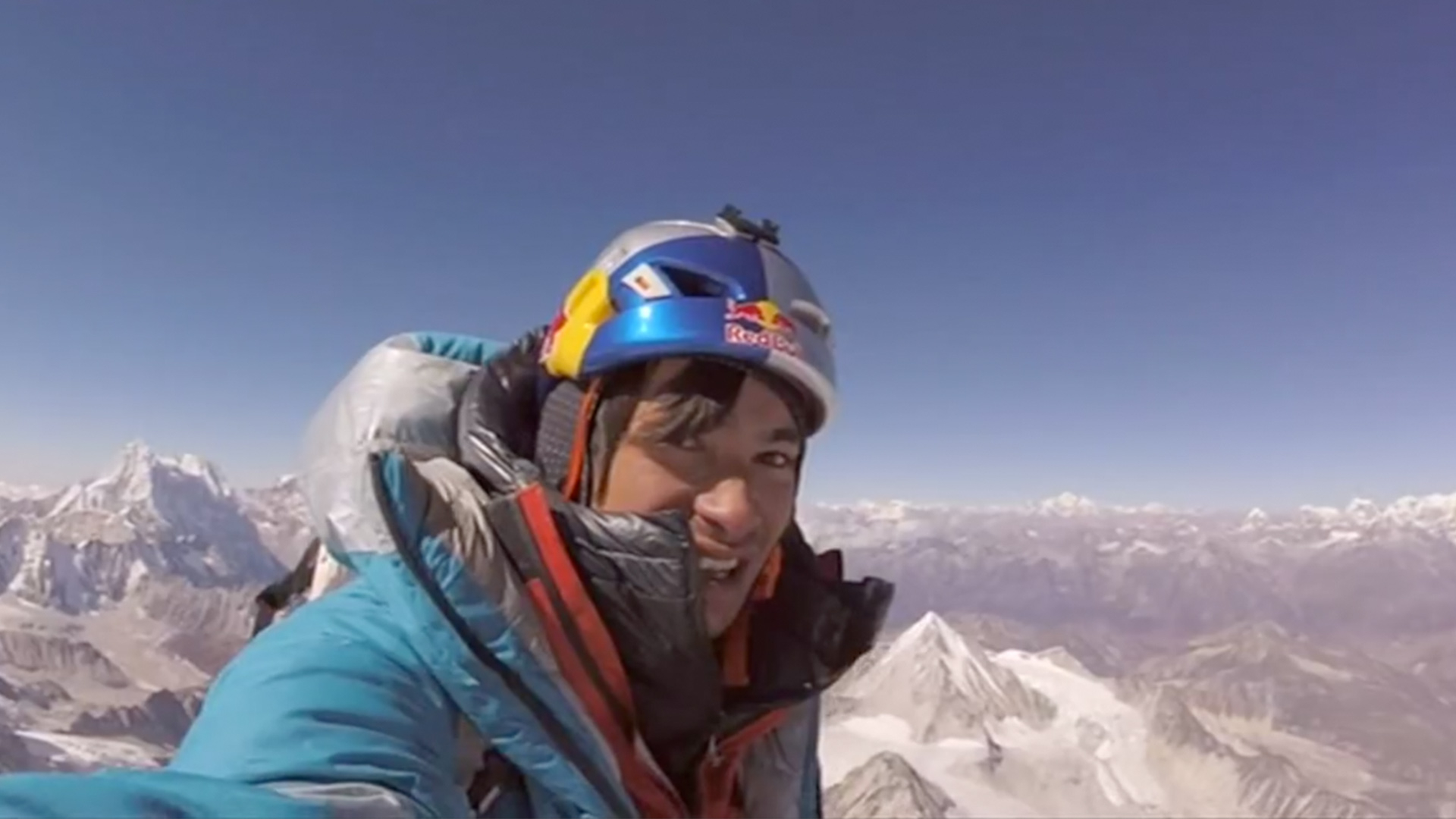 Climber David Lama conquers previously unclimbed Lunag Ri - CGTN