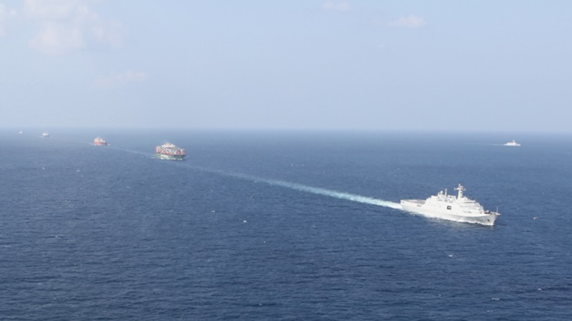 China's Naval Escort Mission Builds Up PLA's International