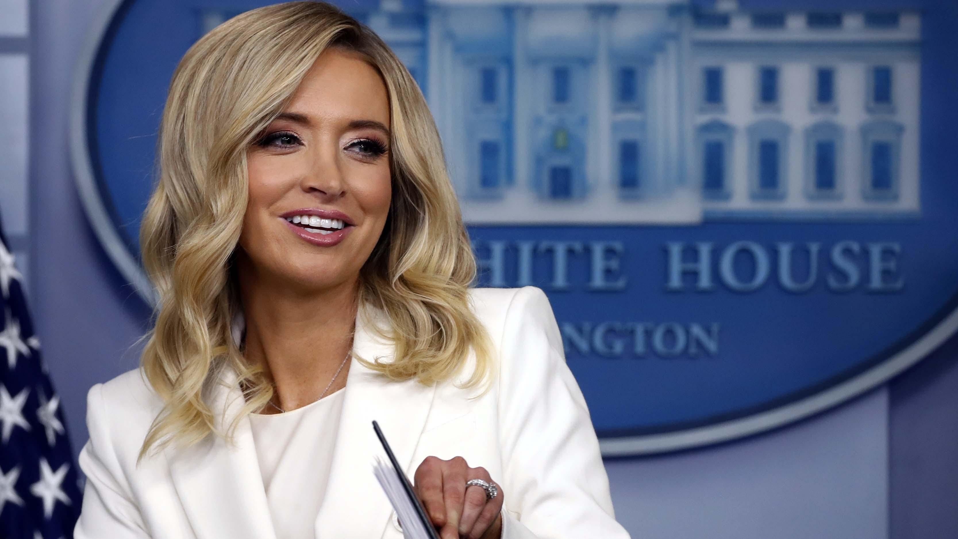 Kayleigh Mcenany The Latest Fox Star In The White House Cgtn
