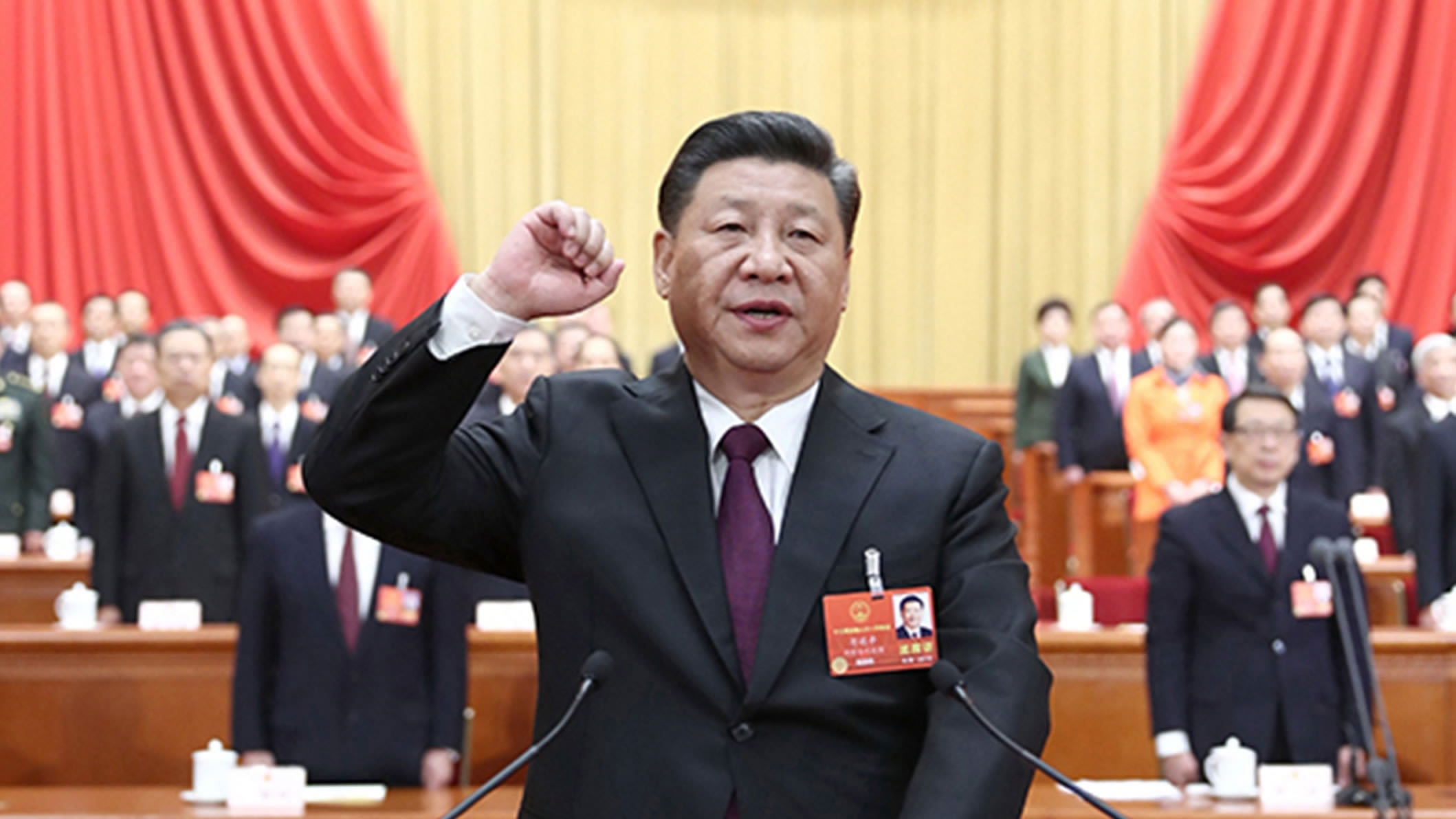 Xi Jinping elected Chinese president at NPC session