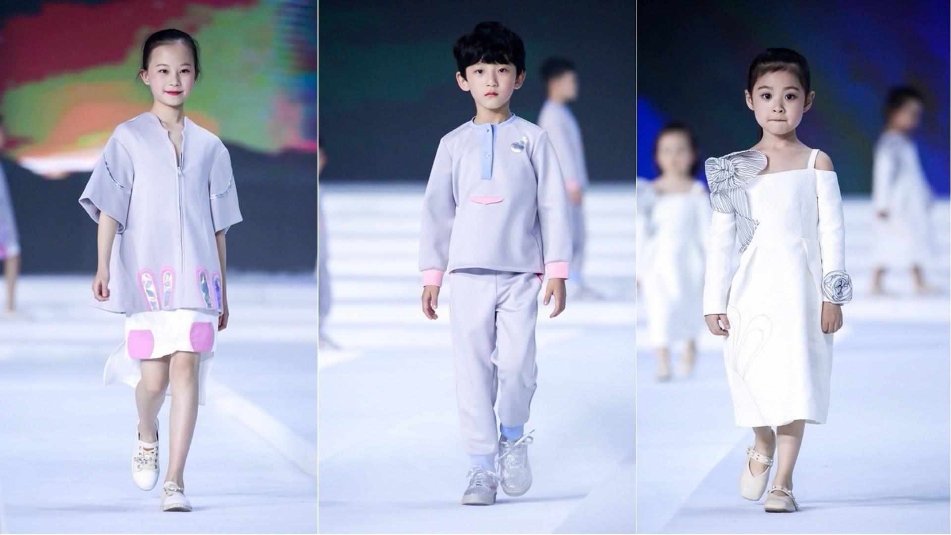 Child models hit the runway at China Fashion Week - CGTN