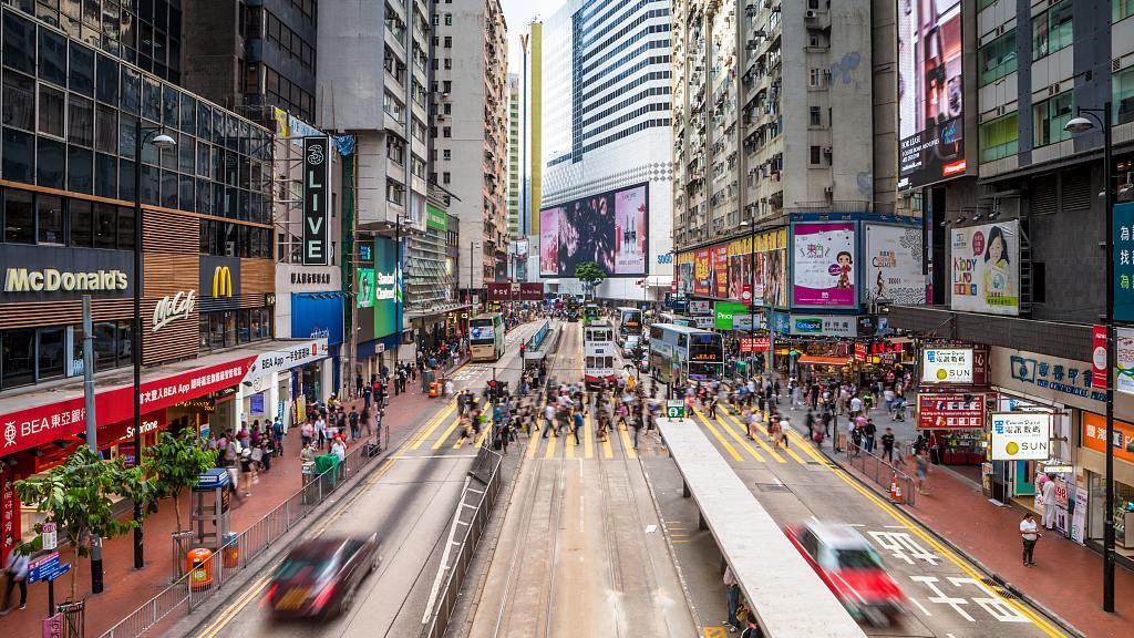 香港陷入十年来的第一次衰退 接口新闻 第1张