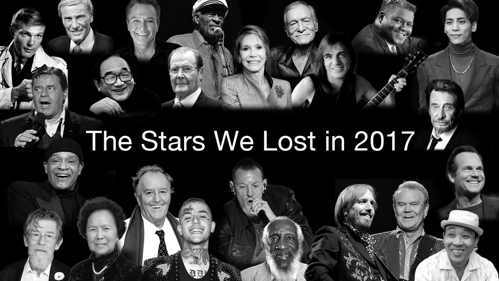 Stars we lost in 2017